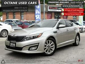 2014 Kia Optima EX ACCIDENT FREE! ONE OWNER! LEATHER!