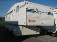 year end season closed $5000 CASH Fifth Wheel with 16' slide