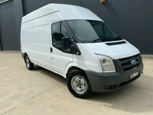 2008 Ford Transit VM Van High Roof LWB 4dr Man 6sp, 1531kg 2.4DT White Manual Van Villawood Bankstown Area Preview