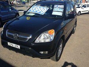 2003 Honda CR-V MY03 (4x4) Sport Black 5 Speed Manual Wagon Broadmeadow Newcastle Area Preview