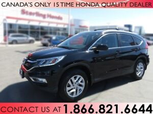 2015 Honda CR-V EX-L | AWD | 1 OWNER | NO ACCIDENTS