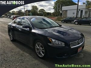 2013 Nissan Maxima 3.5 S CERTIFIED! LOW KM'S! LEATHER! BLUETOOTH