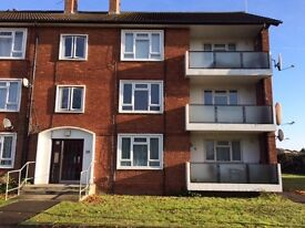 TWO BEDROOMS FIRST FLOOR FLAT WITH BALCONY