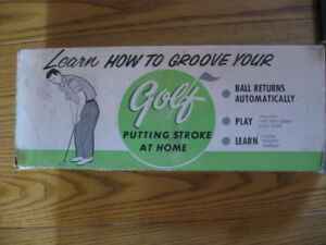 Vintage Learn how to Groove Your Golf with Box  Collectible