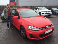 Golf 2.0 GTD 39,000k miles, red, excellent condition, available soon