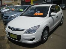 2009 Hyundai i30 FD MY09 SX White 4 Speed Automatic Hatchback Camden Camden Area Preview