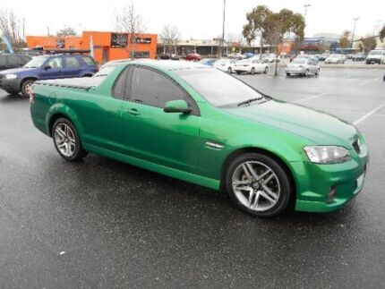 2011 Holden Commodore VE II SV6 Green 6 Speed Manual Utility Maidstone Maribyrnong Area Preview