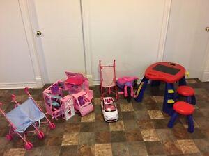 Lot de jouets pour filles à vendre, faite votre offre Saguenay Saguenay-Lac-Saint-Jean image 1
