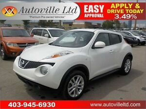 2013 Nissan JUKE SL AWD leather roof nav b cam EVERYONE APPROVED