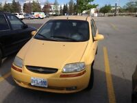 2004 Chevrolet Aveo Hatchback SAFETIED and ETESTED