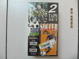 Classic 3D Soccer & SoccerTheBest & Worst  Two Tape Set VHS 1991