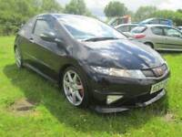 Honda Type R 2.0 i VTEC Type R GT 3dr Good / Bad Credit Car Finance (black) 2007