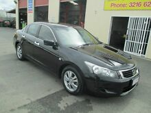 2008 Honda Accord 10 Euro Black 5 Speed Automatic Sedan Coopers Plains Brisbane South West Preview