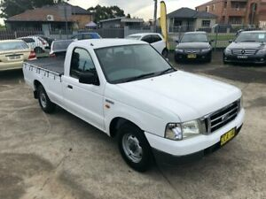 2003 Ford Courier PC Utility 2dr Man 5sp 2.6i White Manual Utility Bass Hill Bankstown Area Preview