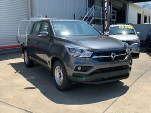2018 Ssangyong Musso Q200 MY19 EX Marble Grey 6 Speed Automatic Dual Cab Utility