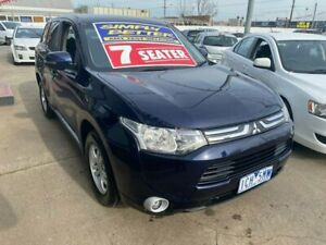 2012 Mitsubishi Outlander ZH MY12 Activ Blue 6 Speed Constant Variable Wagon Maidstone Maribyrnong Area Preview