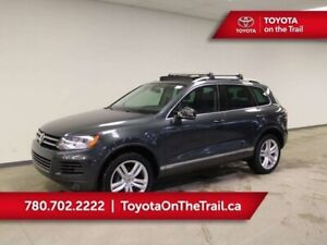 2012 Volkswagen Touareg EXECLINE; FULLY LOADED!! PANORAMIC SUNRO