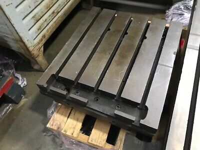 22-34 X 26 T-slotted Table Welding Table Layout Table Sub-plate 5thick