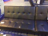 ex display double sofa bed black 3 seater sofa black sofa bed