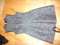 OASIS TWEED DRESS WITH SPARKLE DETAIL SIZE 8