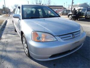 2003 Honda Civic 4 Door Loaded , Auto ,Gas Saver Clearance $1695