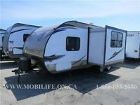**WELL EQUIPPED! **LEATHER! **COUPLES+ TRAVEL TRAILER FOR SALE!