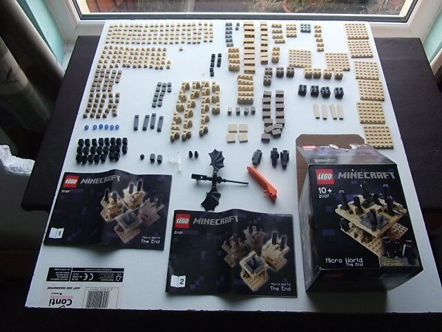 Lego Minecraft Micro World The End 21107 Complete Box And Instructions In Torquay Devon Gumtree