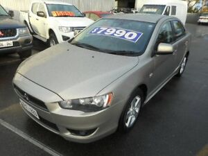 2007 Mitsubishi Lancer CJ VR Gold 6 Speed CVT Auto Sequential Sedan Plympton Park Marion Area Preview
