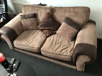 2 seater sofa and two chairs