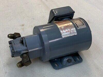 Nop Nippon Oil Pump Top-12ma Trochoid Pump 400v 3ph 0.2kw Used Good Condition