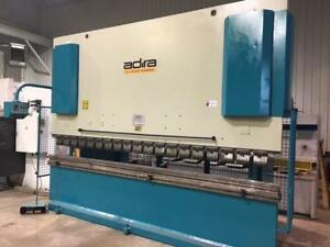 (USED) HYDRAULIC PRESS BRAKE / ADIRA 230T x 157""