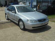 2004 Ford Fairmont BA Silver 4 Speed Automatic Sedan Holroyd Parramatta Area Preview