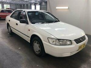 1998 Toyota Camry SXV20R CSi White 4 Speed Automatic Sedan