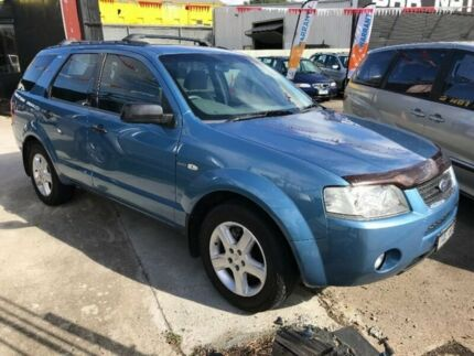 2005 Ford Territory SX TS AWD Blue 4 Speed Sports Automatic Wagon Maidstone Maribyrnong Area Preview