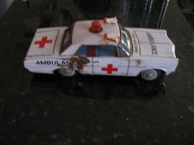 Vintage Bandai Made in Japan Ford Galaxy Ambulance Ratty Looking
