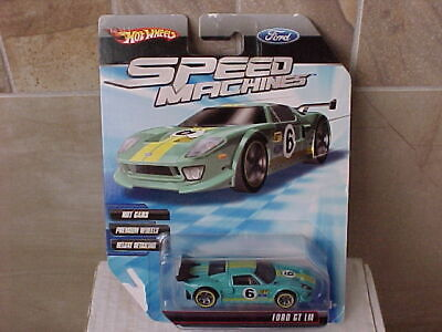 Hot Wheels 2009 Speed Machines Ford GT LM Teal
