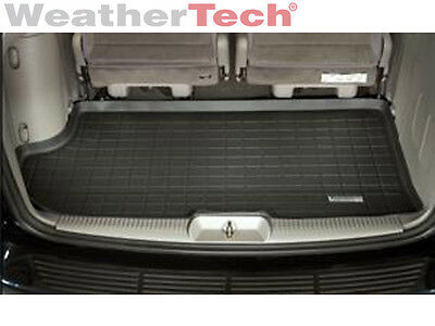 WeatherTech Trunk Cargo Liner for Grand Caravan/ Town & Country - 01-07 - Black