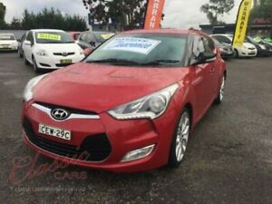 2012 Hyundai Veloster FS + Red 6 Speed Auto Dual Clutch Coupe Cabramatta Fairfield Area Preview