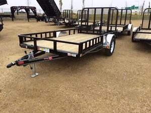 "10' x 60"" Channel Utility Trailer (U6)"