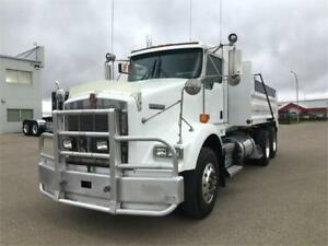 Kenworth 2013 T800 15' New DEL Dump Box