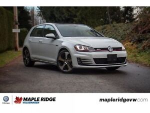 2015 Volkswagen Golf GTI Autobahn ONE OWNER, BC CAR, SUPER LOW K
