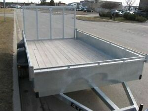 "2017 EXCALIBUR GALVANIZED 3.5 TON 80""X12' LANDSCAPER TRAILER Kingston Kingston Area image 4"
