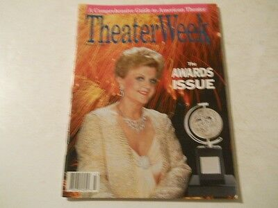 Tony Awards  Antoinette Perry   Theater Week Magazine 1988