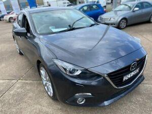 2016 Mazda 3 BM5238 SP25 SKYACTIV-Drive Grey 6 Speed Sports Automatic Sedan Wickham Newcastle Area Preview