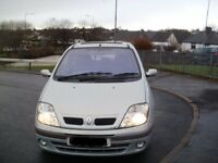 03 Silver Renault Megane Scenic 1.9 DCI **new mot**