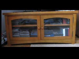 Meuble television en bois - Wood TV entertainment unit