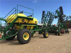2010 JOHN DEERE 1830 DRILL & 1910 CART - REDUCED!