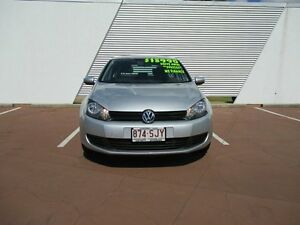 2012 Volkswagen Golf VI MY12.5 90TSI Trendline Silver 6 Speed Manual Hatchback Toowoomba Toowoomba City Preview