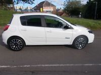RENAULT CLIO 1.1 GT LINE TOMTOM TCE 5d 100 BHP (white) 2012