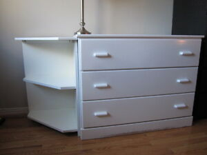Little Folks Ltd. white baby dresser, Made in Canada Oakville / Halton Region Toronto (GTA) image 1